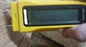 Tester l'humidité du bois de chauffage à Ormesson